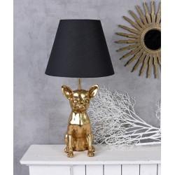 Lampa de masa cu un chiuaua