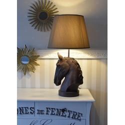 Lampa de masa cu un calut