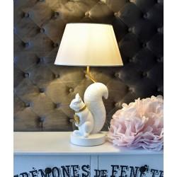 Lampa de masa cu o veverita