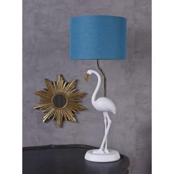 Lampa de masa cu pasare flamingo