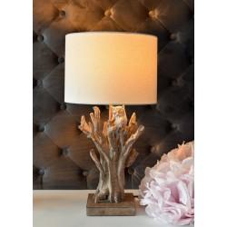 Lampa de masa cu o bufnita