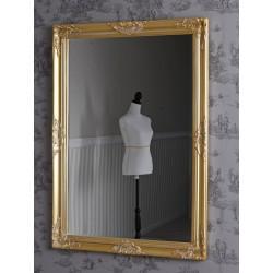 Oglinda rococo cu o rama aurie