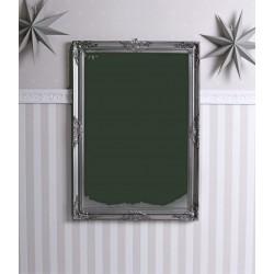 Oglinda rococo cu o rama argintie