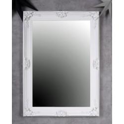 Oglinda cu o rama alba