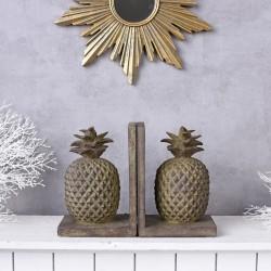 Set doua suporturi pentru carti cu ananas
