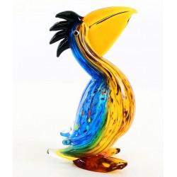 Pelican din sticla de Murano