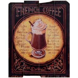 Tablou vintage cu o cafea frantuzeasca
