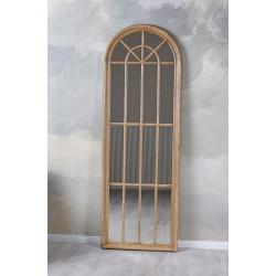 Oglinda fereastra cu rama din lemn masiv