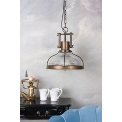 Lampa industriala  de tavan cu un bec Edison
