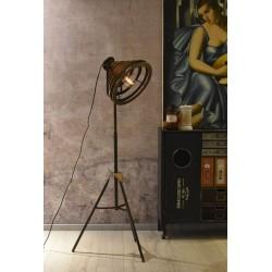 Lampa industriala de podea cu un picior gen trepied