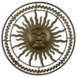 Decoratiune soare din fier forjat