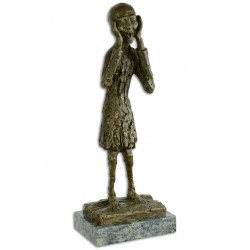 Tipatul - statueta din bronz