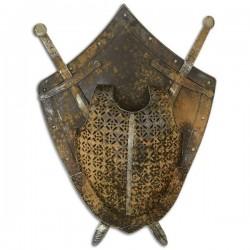 Platosa cu sabii din fier forjat antichizat