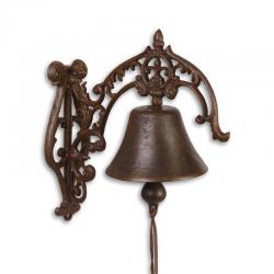 Clopot ornamental pentru usa din fonta