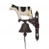Clopot de usa din fonta cu o vaca