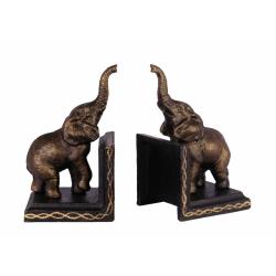 Set doua opritoare de carti cu elefanti