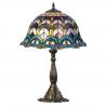 Lampa Tiffany din bronz cu motive orientale