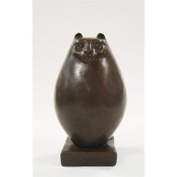 Pisica persana-statueta din bronz