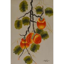 Ram de portocal- pictura in ulei