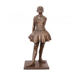 Dansatoare de 14 ani-statueta din bronz pe un soclu din marmura