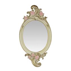 Oglinda ovala din cristal
