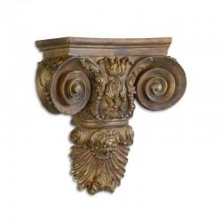 Consola de perete bronz