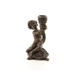 Sfesnic cu un ingeras din bronz masiv