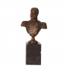 Generalul Bagration-statueta din bronz pe un soclu din marmura