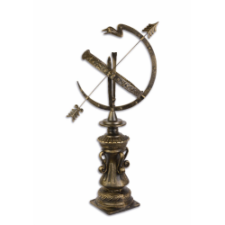 Cadran solar din fonta antik brown