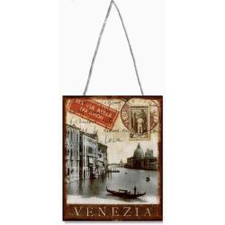 Venetia- decoratiune din metal pentru perete