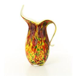 Vaza carafa din sticla Murano