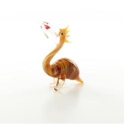 Pelican - miniatura din sticla Murano