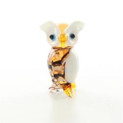 Bufnita - miniatura din sticla Murano