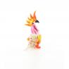 Pasarica cacado - miniatura din sticla Murano