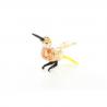 Pasarica colibri -  miniatura din sticla Murano