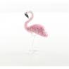 Pasarea flamingo -miniatura din sticla Murano
