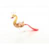 Pauninta -miniatura din sticla Murano