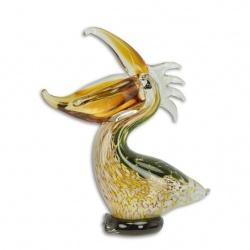 Pelican din sticla Murano