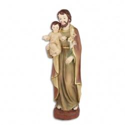 Statueta din rasini cu Isus cu pruncul