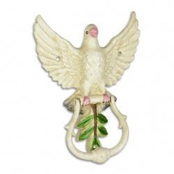 Batator de usa cu un décor cu un porumbel