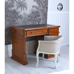 Birou pentru computer din lemn mahon