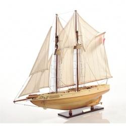 Macheta din lemn a navei BLUENOSE