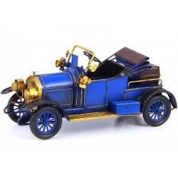 Model de masinuta de epoca albastra