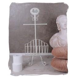 Suport hartie igienica pentru baie din fier forjat