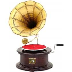Gramofon rotund