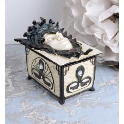 Caseta Art Nouveaux cu o sirena