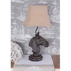Lampa de masa cu un cal