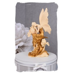 Statueta Art Nouveau cu o femeie