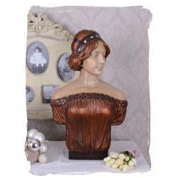 Statueta cu un bust de femeie