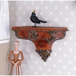 Consola baroc cu diverse decoratiuni